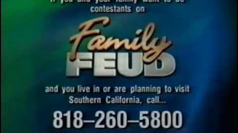 Family Feud contestant plug, 2000