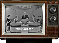 Password-on-TV