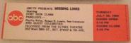 Missing Links (July 28, 1964)