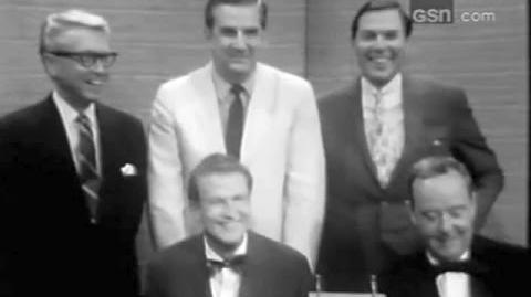 What's My Line? - G-T Game Show Hosts; PANEL Sue Oakland, Mark Goodson (Jul 16, 1967)