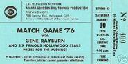 Match-game-76-with-gene-rayburn-original-ticket 1 96964dc96101e6b7034ca9ff192f0ba9