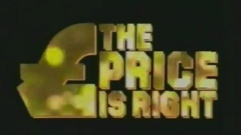 The Price Is Right - Series 1 Episode 1 - 24th March 1984