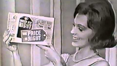 1960's Original The Price is Right Bid It Right home board game