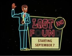 Lost & Found Starting September 7