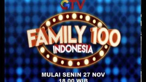 SEGERA! FAMILY 100 INDONESIA DI GTV