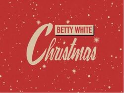 Betty White Christmas 2016