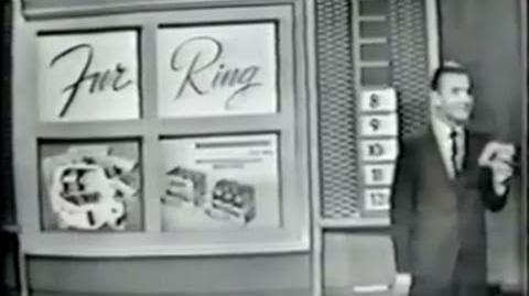 Say When!! 1962 Episode