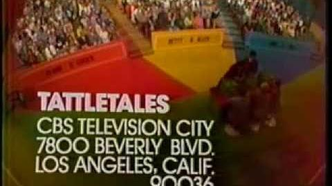 Tattletales ticket plug, 1974