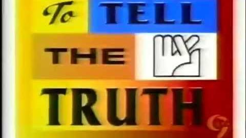 WWOR To Tell the Truth promo 1, 2001
