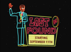 Lost and Found Starting September 11