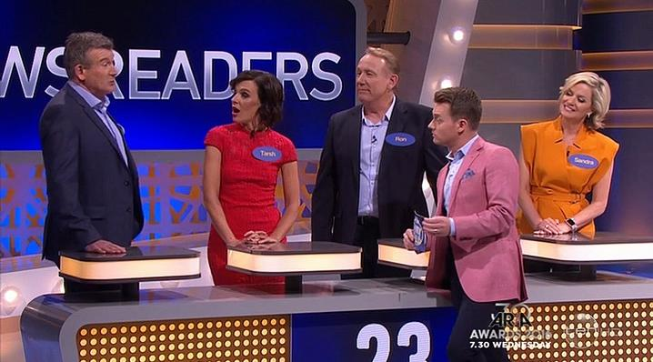 All Star Family Feud Au - News Readers v Hosts