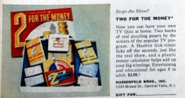 Two for the Money Board Game Ad