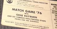Match Game '76 (September 18, 1976)