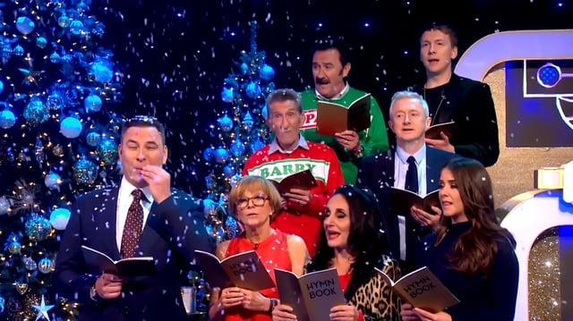 Blankety Blank Christmas Eve ITV
