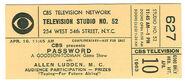PasswrdTicket1963