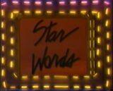 Star Words Black Letter Logo