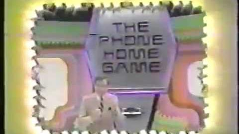 "The Price is Right ""Phone Home Game"" plug, 1983"
