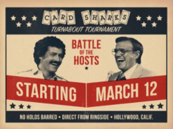 Card Sharks Turnabout Tournament Battle of the Hosts