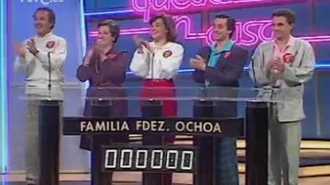 Family Feud (Spain) - Todo queda en casa (TVE 1986)