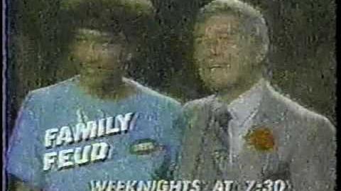 Family Feud promo, 1983