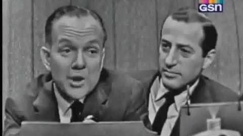 What's My Line? - Mark Goodson & Bill Todman; Jackie Cooper; Vivian Blaine panel Jan 1, 1