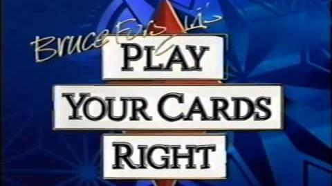 Bruce Forsyth's Play Your Cards Right opening titles ITV 1996