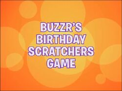 Buzzr's Birthday Scratchers Game