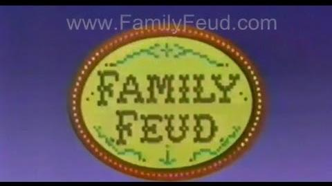FAMILY FEUD ad - 1985 Chicago TV