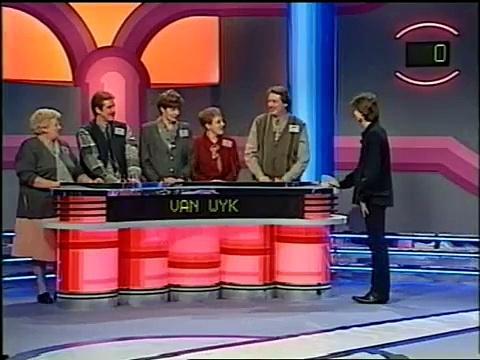 VTM - Familieraad, reclame & intro Wittekerke (1996)