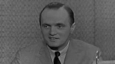 What's My Line? - Goodson & Todman; Bob Newhart; Buddy Hackett panel (Feb 4, 1962)