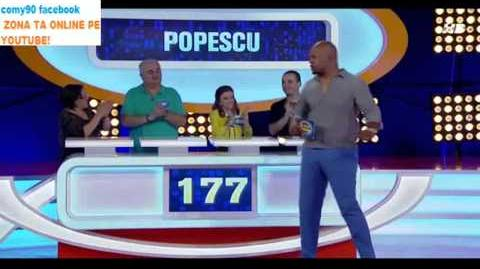 Family Feud (Romania) - Ce spun romanii episodul 1 part 2
