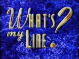 What's My Line? (2000 pilot)