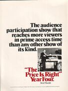 The Price Is Right 1975 Ad