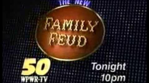 WPWR Family Feud promo, 1993