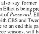 Password (1997 proposed revival)