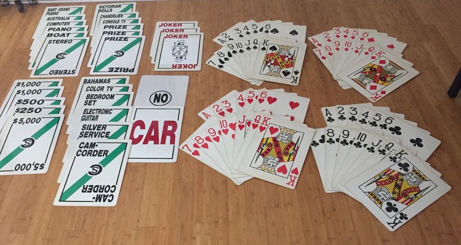 Card Sharks 1980s Props Jpg