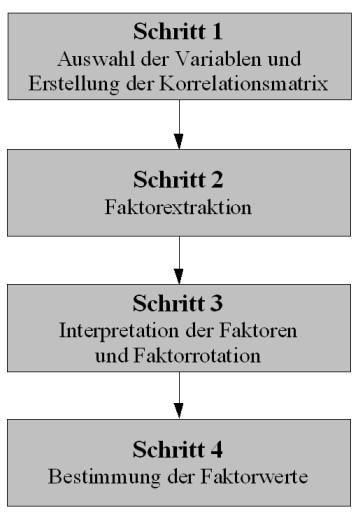 Faktorenanalyse-ablauf