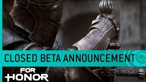 For Honor Cinematic Trailer Closed Beta Date Announcement – The Thin Red Path US