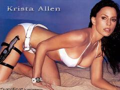 Krista Allen bikini