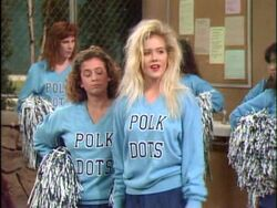 Married With Children Poke High cheerleader