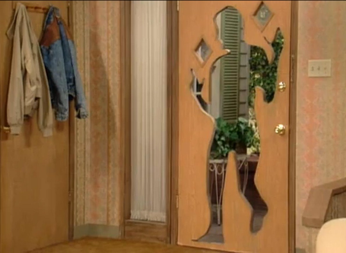 Door hole.jpg & Image - Door hole.jpg | Married with Children Wiki | FANDOM powered ...