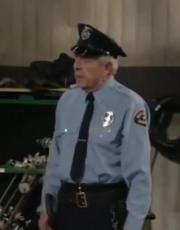 J.J. Johnston as Security Guard