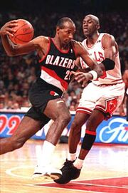 Drexler Jordan NBA Finals 1992