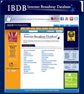 IBDB Main page