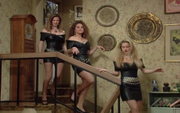 Wikia MWC - Bridesmaids in black leather