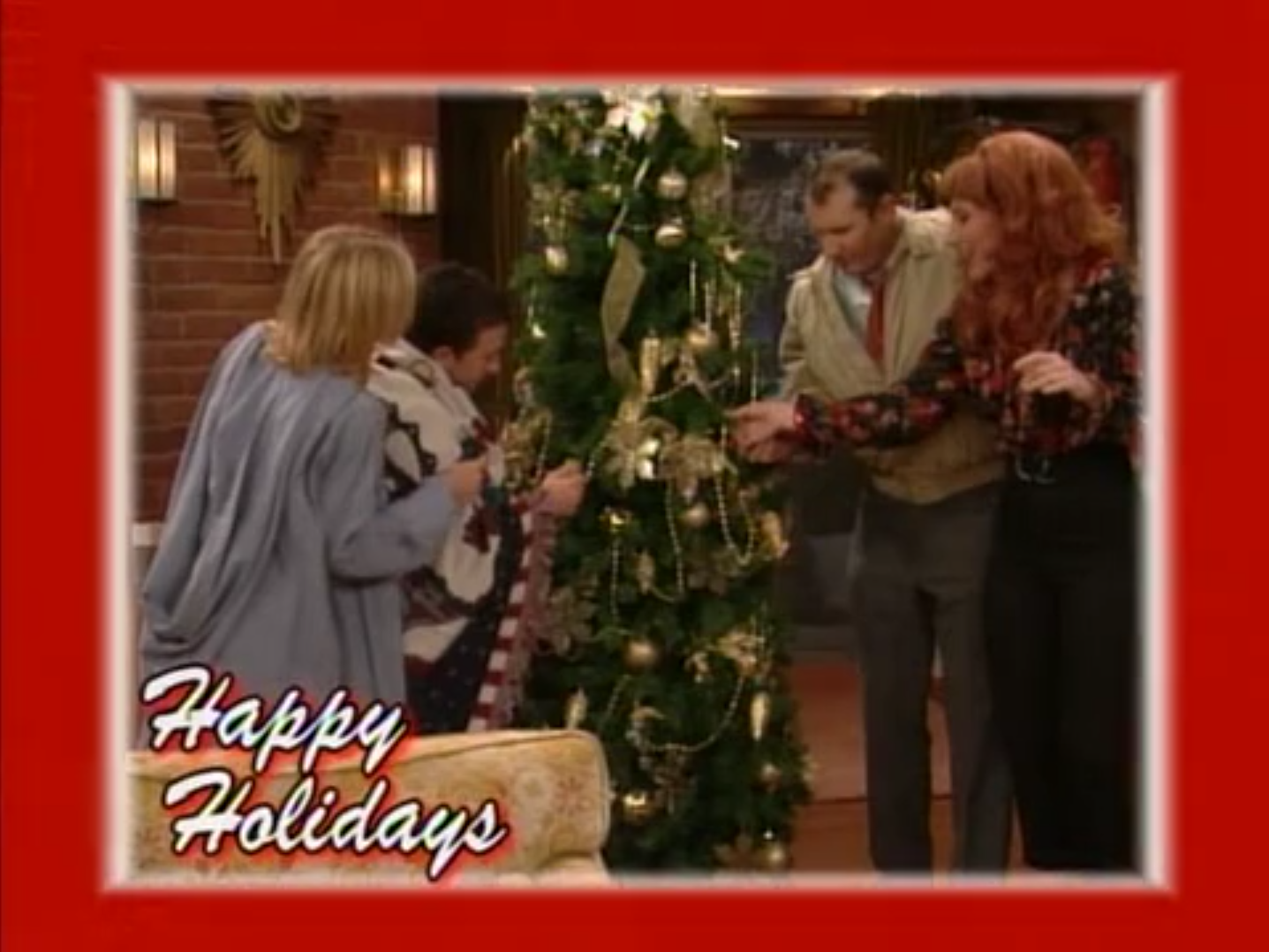 Married With Children Christmas.Christmas Married With Children Wiki Fandom Powered By Wikia