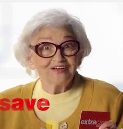Lillian Adams CVS commercial