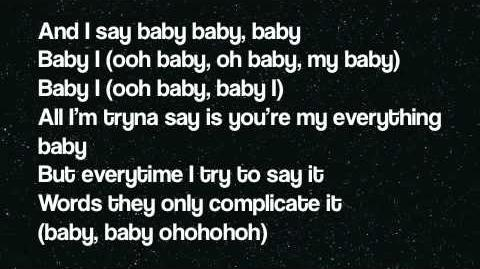 Baby I (Lyrics On Screen)