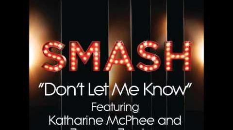 Don't Let Me Know (DOWNLOAD MP3 LYRICS)