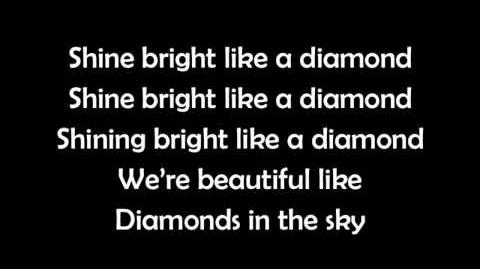 Rihanna - Diamonds LYRICS